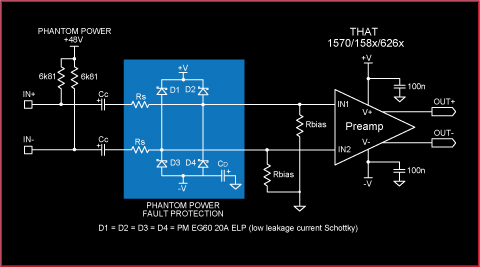 phanton power fault protection